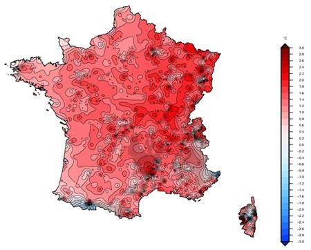 température-moyenne-france-2018